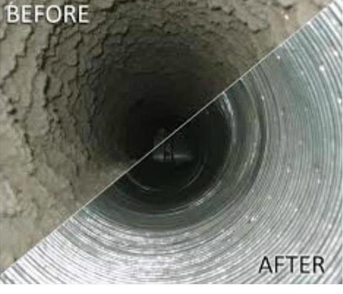 Why SERVPRO When It Comes To Getting Dirty Ducts Clean